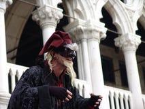 Carnaval de Venecia Fotos de archivo libres de regalías