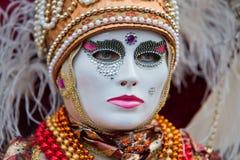 Carnaval 2013 de Venecia Fotografía de archivo libre de regalías