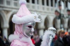 Carnaval 2015 de Venecia Fotografía de archivo libre de regalías