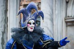 Carnaval 2015 de Venecia Imágenes de archivo libres de regalías