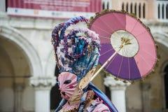 Carnaval 2015 de Venecia Imagenes de archivo