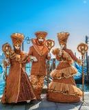 Carnaval 2009 de Venecia fotografía de archivo libre de regalías
