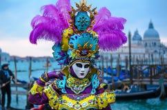 Carnaval 2009 de Venecia Imagenes de archivo