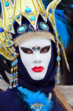 Carnaval 2009 de Venecia Foto de archivo libre de regalías