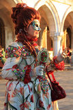 Carnaval 2016 de Venecia Foto de archivo libre de regalías