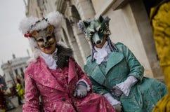 Carnaval 2009 de Venecia fotografía de archivo
