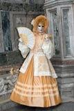 Carnaval de Venecia en Italia Imagen de archivo