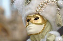 Carnaval de Veneza Foto de Stock Royalty Free