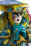 CARNAVAL DE VENEZA Fotografia de Stock Royalty Free