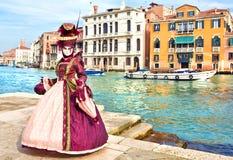 Carnaval de Veneza Fotografia de Stock