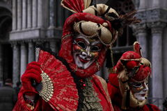 Carnaval 2015 de Veneza Fotografia de Stock
