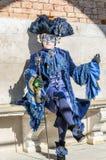 Carnaval 2009 de Veneza Foto de Stock Royalty Free
