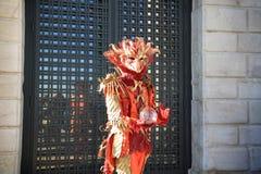 Carnaval 2016 de Veneza Foto de Stock