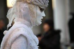 Carnaval de Veneza - disfarce Venetian Fotos de Stock