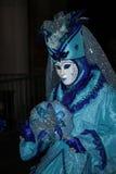 Carnaval de Veneza - disfarce Venetian Imagens de Stock Royalty Free