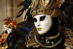 Carnaval de Veneza - disfarce Venetian Imagem de Stock