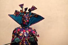 Carnaval de Veneza, máscaras bonitas, Itália Imagens de Stock
