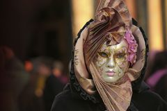 Carnaval de Venezia Fotografía de archivo libre de regalías