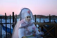 Carnaval 2016 de Venise Image libre de droits