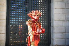 Carnaval 2016 de Venise Photo stock