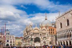 Carnaval de Venise dans St Mark Square photos stock