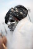 Carnaval de verticale de masque de Venise Italie Photos libres de droits