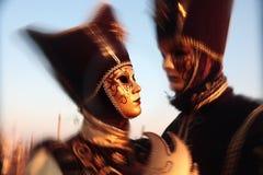 Carnaval de verticale de masque de Venise Italie Image libre de droits