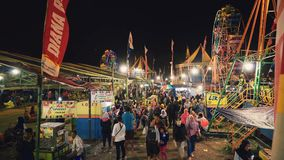 Carnaval de viagem em Jogjakarta, Indonésia vídeos de arquivo