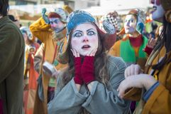 Carnaval de Viareggio Photo stock