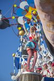 Carnaval de Viareggio Photographie stock