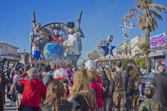 Carnaval de Viareggio Images libres de droits