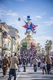 Carnaval de Viareggio Image libre de droits