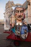 Carnaval de Viareggio, Toscana imagen de archivo libre de regalías