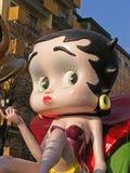 Carnaval - de vlotter van Betty Boop Stock Afbeelding