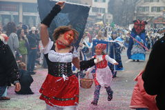Carnaval de Zurique foto de stock