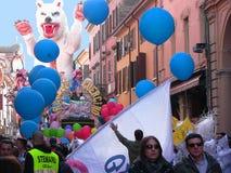 Carnaval del Cento los muchachos del Guercino 2 imágenes de archivo libres de regalías