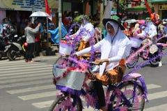 Carnaval del Día de la Independencia de Indonesia foto de archivo