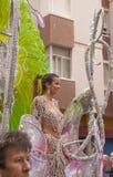 Carnaval 2016 del Las Palmas Fotografía de archivo libre de regalías
