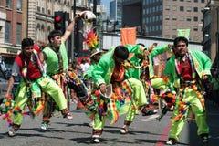Carnaval del pueblo Fotos de archivo