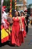 Carnaval del pueblo Fotografía de archivo