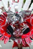 Carnaval des Caraïbes de Leicester, R-U 2010 Photos libres de droits