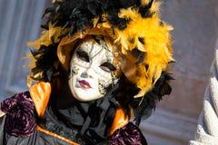 Carnaval des masques de Venise Image libre de droits