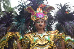 Carnaval do distrito de Semarang do aniversário das culturas Imagens de Stock Royalty Free