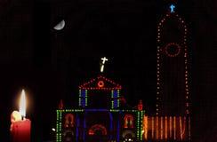Carnaval do Natal imagens de stock