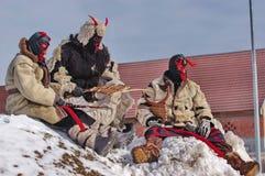 Carnaval 3 do término do inverno imagens de stock royalty free