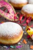 Carnaval donuts royalty-vrije stock foto's