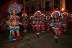 Carnaval el Brasil del festival del boi del meu de Bumba Foto de archivo libre de regalías