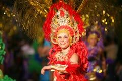 Carnaval em Arrecife Lanzarote 2009 Foto de Stock Royalty Free
