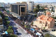 Carnaval em Chipre Foto de Stock