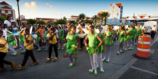 Carnaval em Curaçau imagens de stock royalty free